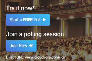 CloudVOTE Join Poll