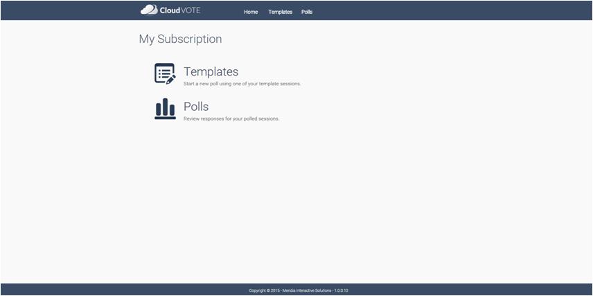 CloudVote Subscription