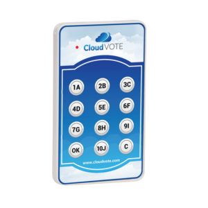 CloudVOTE Student Response Clicker Side