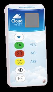 EZ-VOTE 5 wireless voting keypad