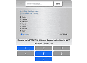 Electronic Voting Election App