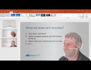 CloudVOTE Training Presentation Management